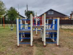 Монтаж детской площадки Совьяки