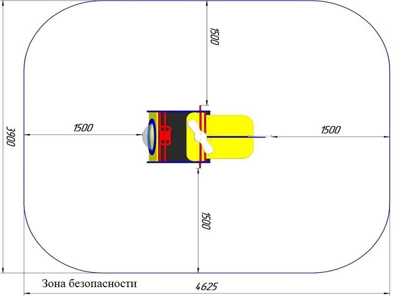 ИО-12.3 Игровое оборудование «Вертолёт»