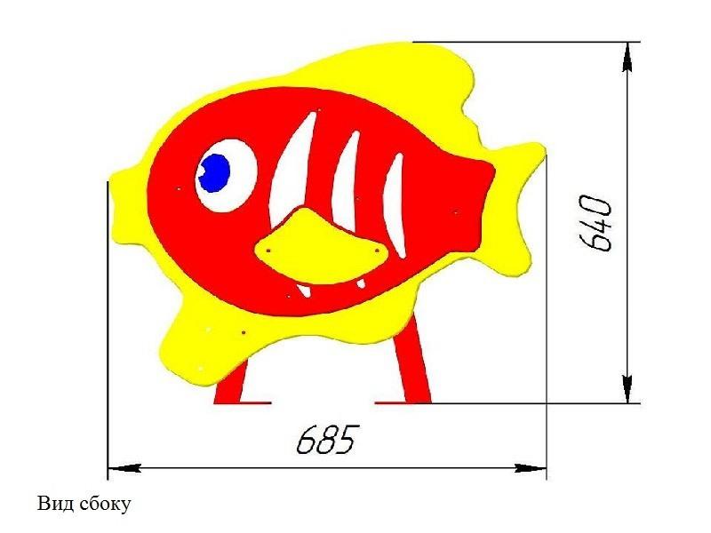 МФ-32.07 Лавочка детская