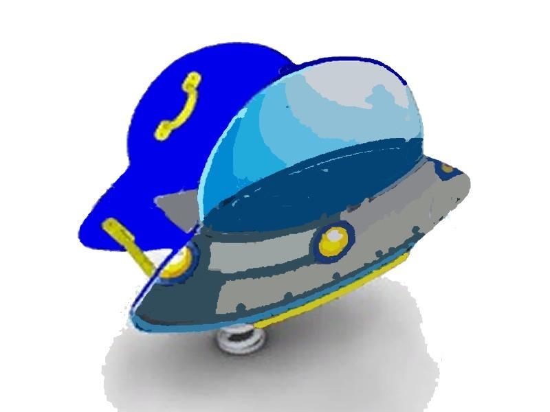 КБ-20 Качалка на пружине «НЛО»