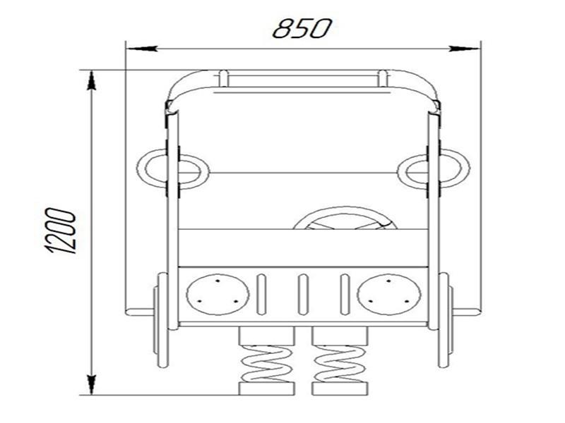 КБ-04 Качалка на пружине