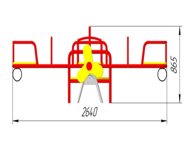 КБ-32 Качалка-балансир «Самолет»
