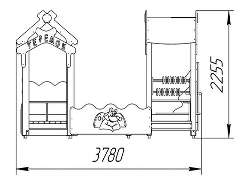 ПС-29 Песочный дворик без горки