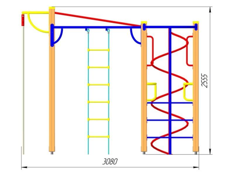 ГК-13 Гимнастический комплекс