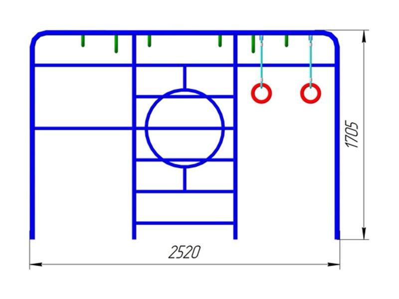 ГК-03 Гимнастический комплекс