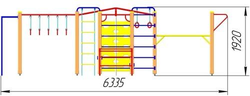 ГК-31 Гимнастический комплекс