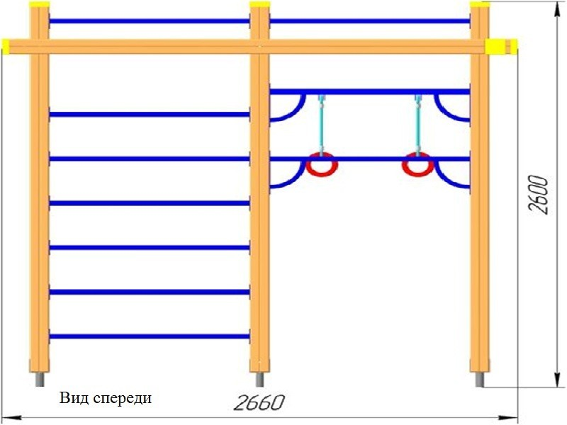 ГК-49.1 Гимнастический комплекс